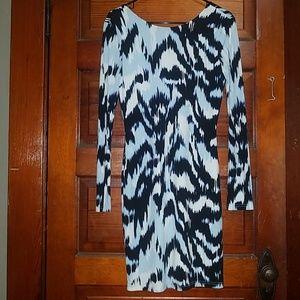 Mid length Jennifer Lopez dress